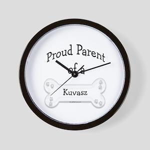 Proud Parent of a Kuvasz Wall Clock
