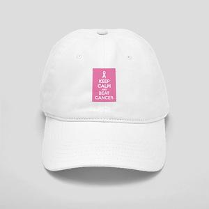 Keep calm and beat cancer Cap