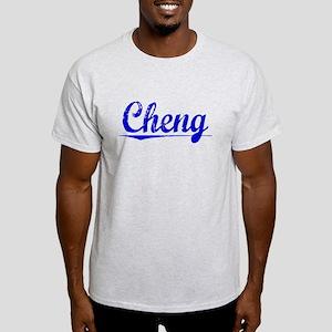 Cheng, Blue, Aged Light T-Shirt