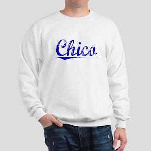 Chico, Blue, Aged Sweatshirt