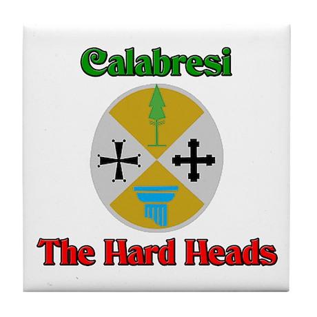 Calabresi The Hard Heads Tile Coaster