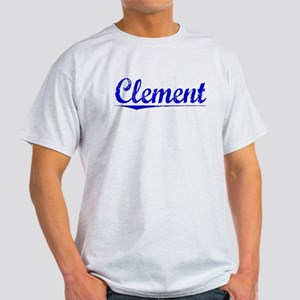 Clement, Blue, Aged Light T-Shirt