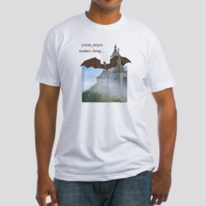 Dragon Castle Fitted T-Shirt