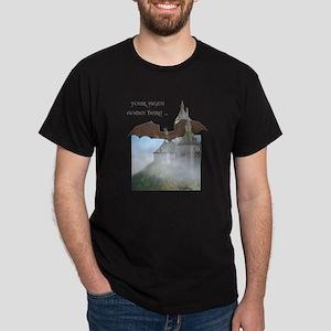 Dragon Castle Dark T-Shirt