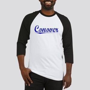 Conover, Blue, Aged Baseball Jersey