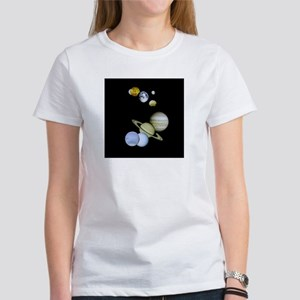Our Solar System Women's T-Shirt