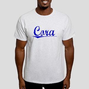 Cora, Blue, Aged Light T-Shirt