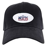 Fathers Day All American Dad Black Cap