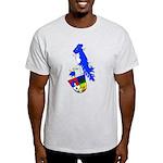 Chin Knights Ash Grey T-Shirt