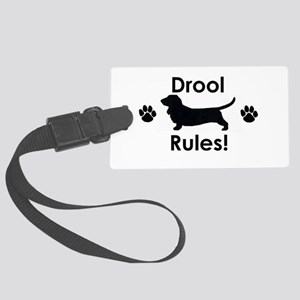 Drool Rules! Large Luggage Tag