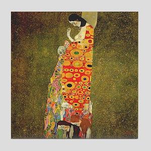 Hope by Gustav Klimt Tile Coaster