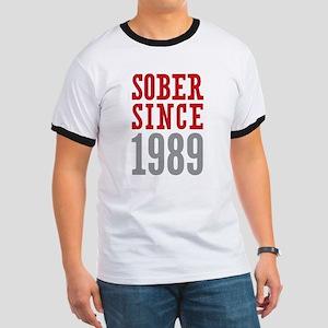 Sober Since 1989 Ringer T