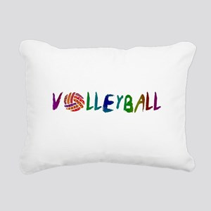 VOLLEYBALL3 Rectangular Canvas Pillow