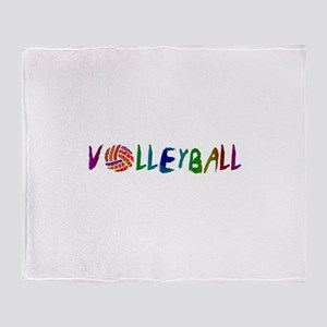 VOLLEYBALL3 Throw Blanket