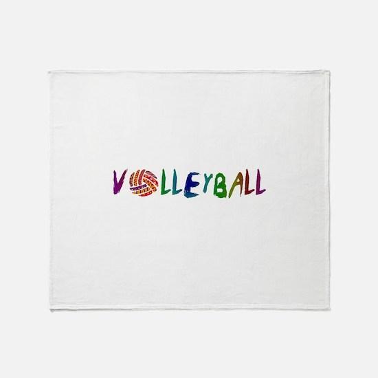VOLLEYBALL3.jpg Throw Blanket