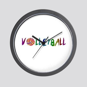 VOLLEYBALL3 Wall Clock