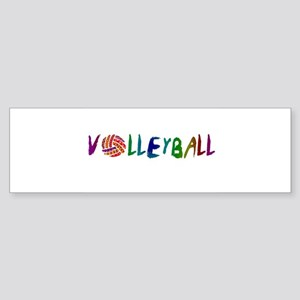 VOLLEYBALL3 Sticker (Bumper)