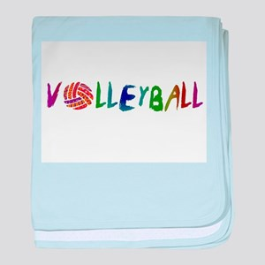 VOLLEYBALL3 baby blanket