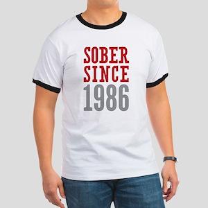 Sober Since 1986 Ringer T