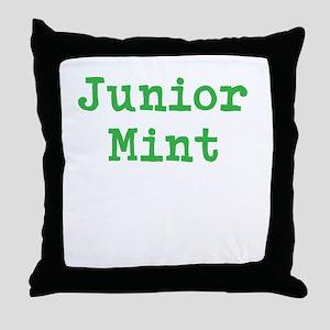 Junior Mint Throw Pillow
