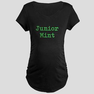 Junior Mint Maternity Dark T-Shirt