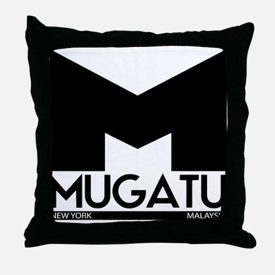 Mugatu Throw Pillow