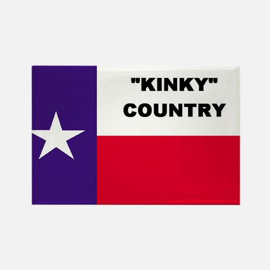 Kinky Country Rectangle Magnet