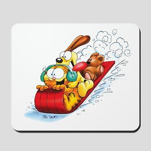 Sledding Fun! Mousepad