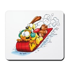 Sledding Fun! Mousepad