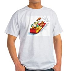 Sledding Fun! Light T-Shirt
