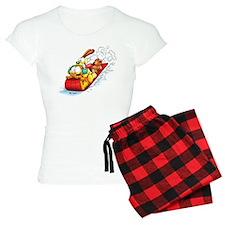 Sledding Fun! Women's Light Pajamas