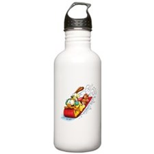 Sledding Fun! Stainless Water Bottle 1.0L