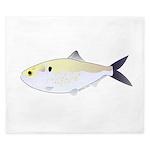Menhaden Bunker fish King Duvet