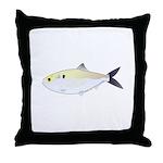 Menhaden Bunker fish Throw Pillow