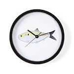 Menhaden Bunker fish Wall Clock