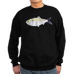 Menhaden Bunker fish Sweatshirt (dark)