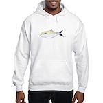 Menhaden Bunker fish Hooded Sweatshirt