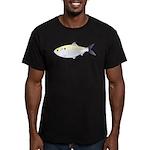 Menhaden Bunker fish Men's Fitted T-Shirt (dark)
