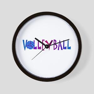 VOLLEYBALL1 Wall Clock