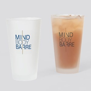 Mind Body Barre Logo Drinking Glass