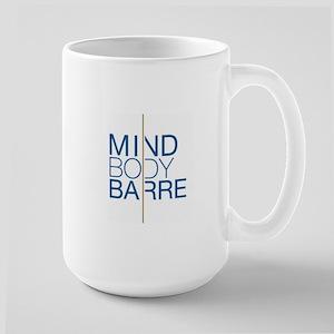 Mind Body Barre Logo Large Mug