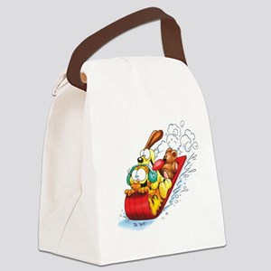 Sledding Fun! Canvas Lunch Bag