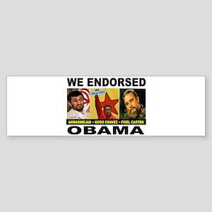 OBAMA'S PALS Sticker (Bumper)