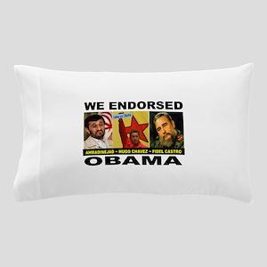 OBAMA'S PALS Pillow Case