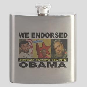 OBAMA'S PALS Flask