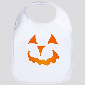 Pumpkin Face Bib