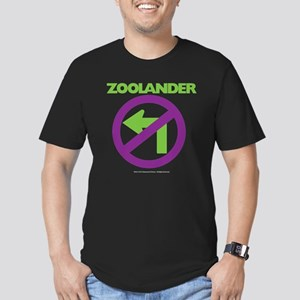 No Left Men's Fitted T-Shirt (dark)