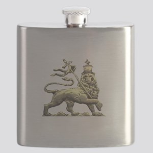 Rasta Lion of Judah Flask