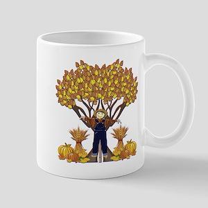 Autumn Scarecrow Mug