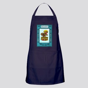 The star of the show Apron (dark)